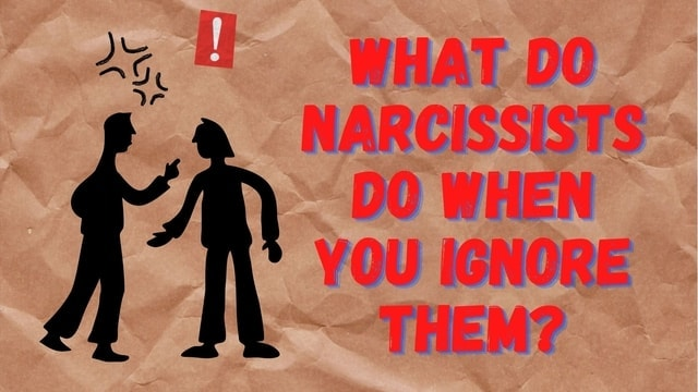 Why do narcissists ignore texts
